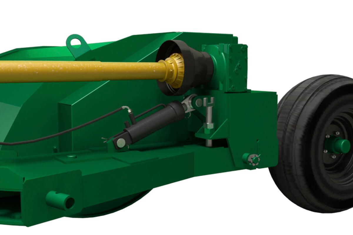 Sega Pasto Controle hidráulico de altura do corte