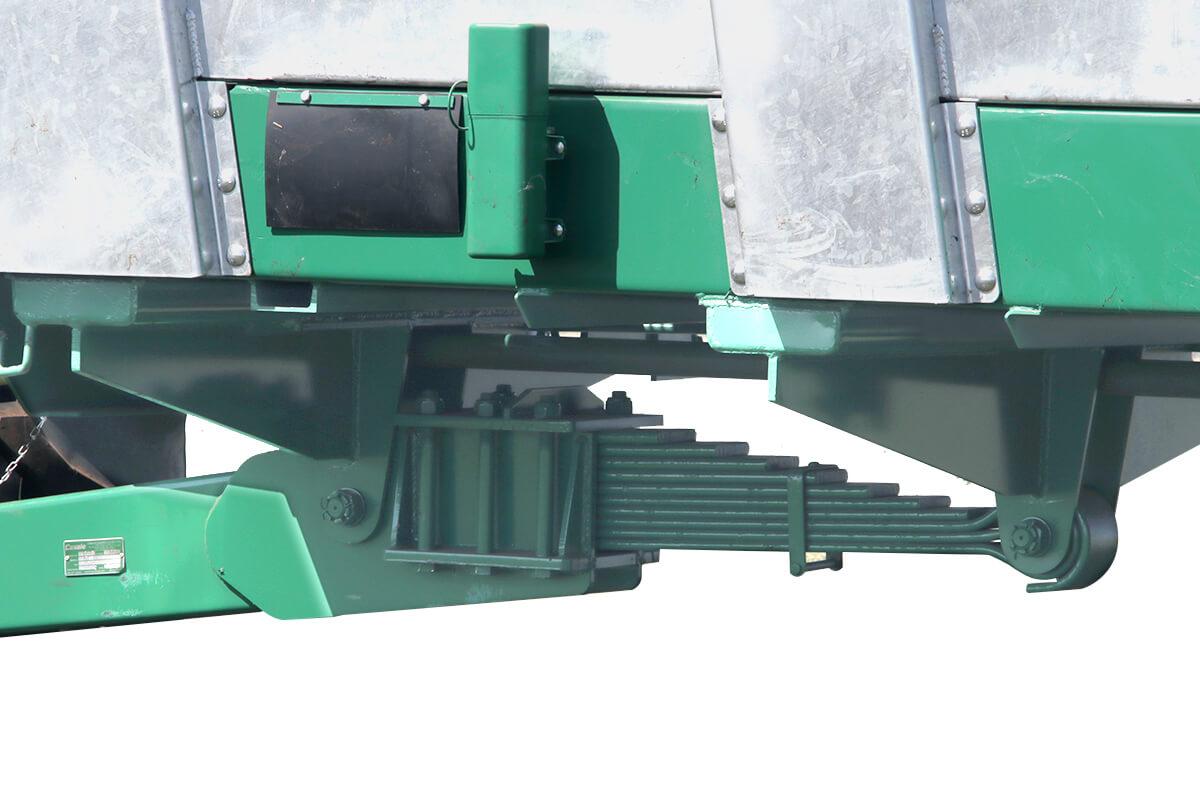 Lec Hydro Cabeçalho com sistema de suspensão por feixe de molas
