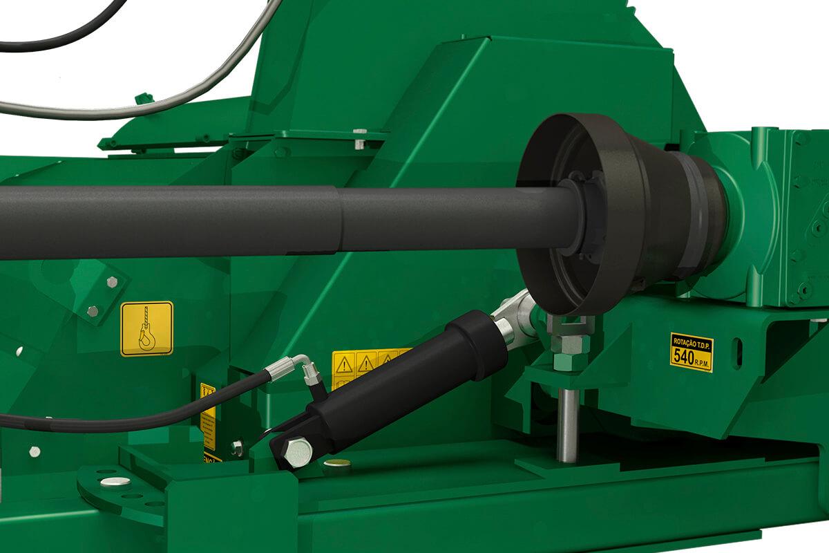 CFC Super Regulagem hidráulica de altura de corte